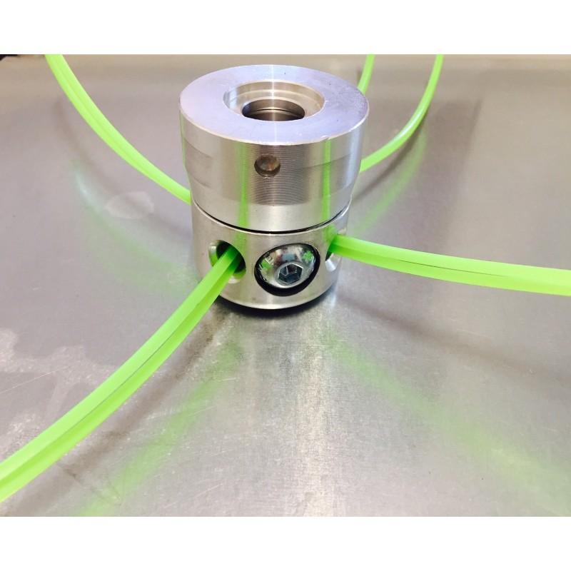 Testina Filo Universale Multifilo 8 fili Alluminio
