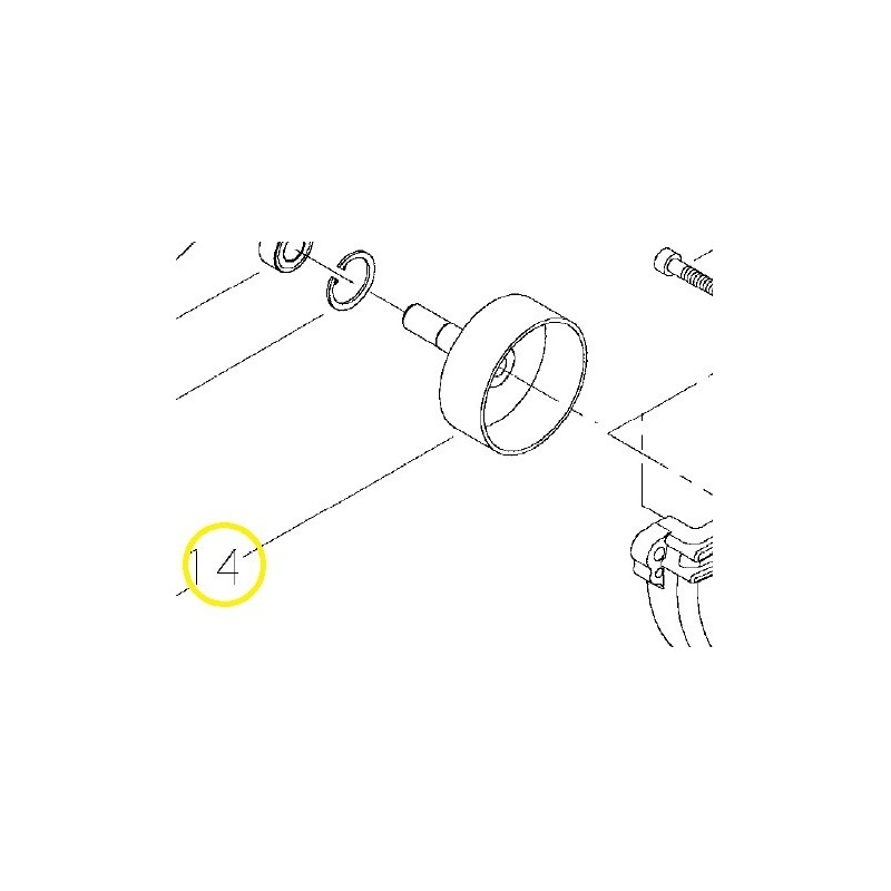 Tamburo Campana Frizione Decespugliatore T242XS/T243