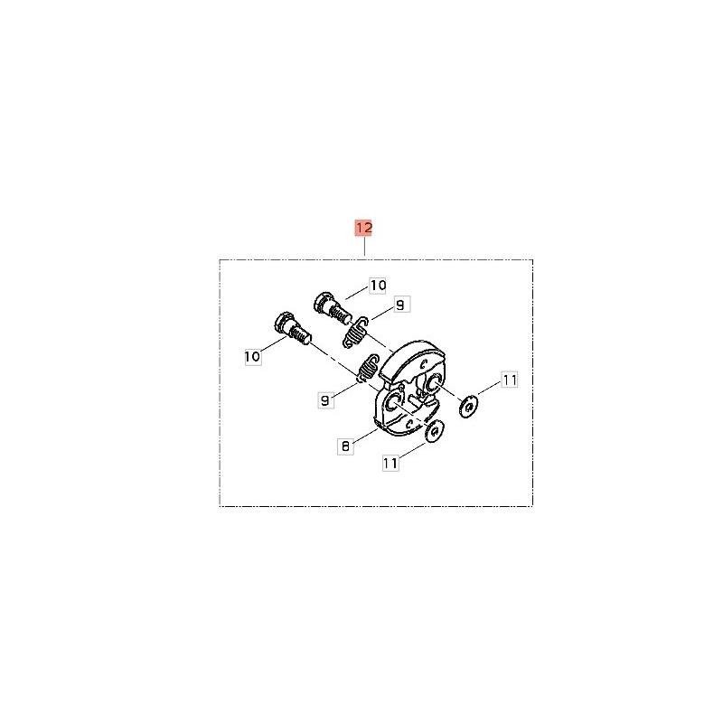 Frizione Completa Decespugliatore BP35 shindaiwa