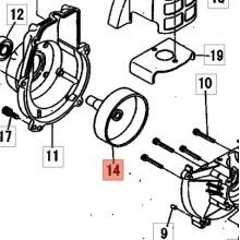 Tamburo Frizione Completa Decespugliatore BP35 shindaiwa