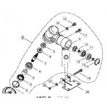 Coppia Conica Completa Decespugliatore T450 Tipo Nuovo Shindaiwa