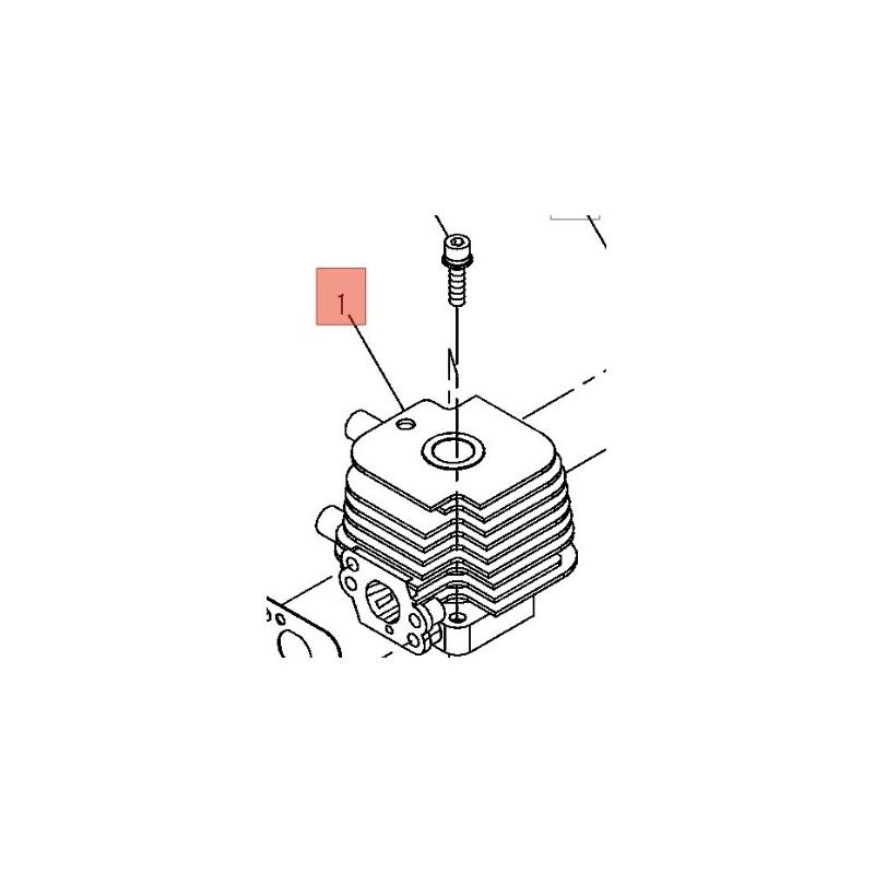 Cilindro Decespugliatore T220EC1/22t/22dh  Shindaiwa