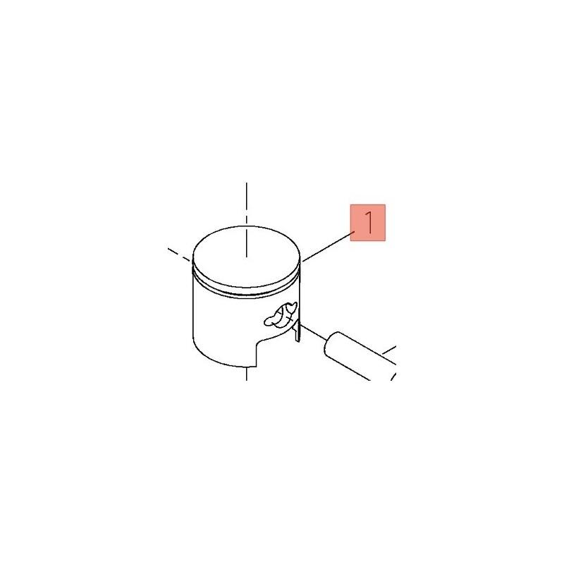 Pistone Decespugliatore T220EC1/22t/22dh  Shindaiwa