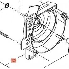 Coperchio Completo in Metallo per Decespgliatore T230