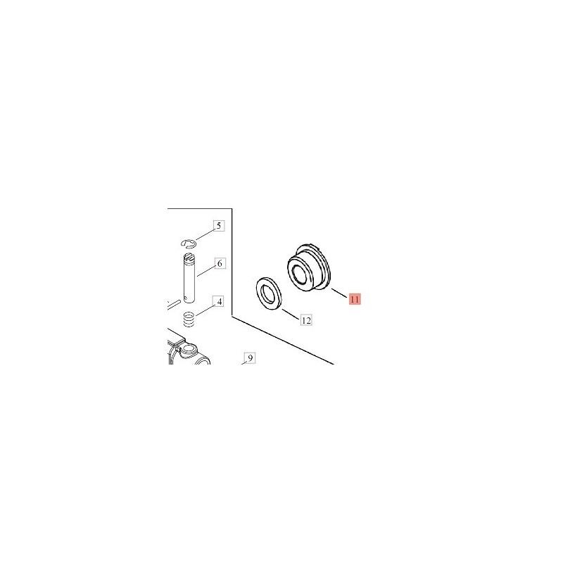 Vite senza fine per Pompa Olio Motosega  Shindaiwa 251ts/tcs Echo CS2511tes/tesc