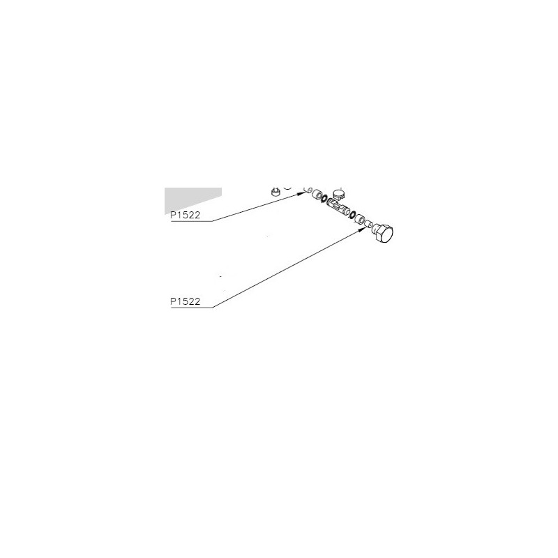 Paracolpi Pistoncino di Scambio  Abbacchiatore Lisam Mg/flashpiker