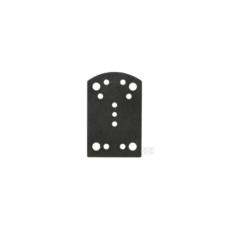 Piastrina INOX per Abbacchiatore V8 Lisam