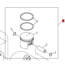 Kit Pistone completo Decespugliatore BP530 shindaiwa