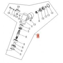 Coppia Conica Completa Decespugliatore b45/T450 Tipo Vecchio Shindaiwa